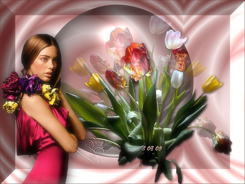 Bouquet pour une jeune fille for Bouquet de fleurs pour un homme